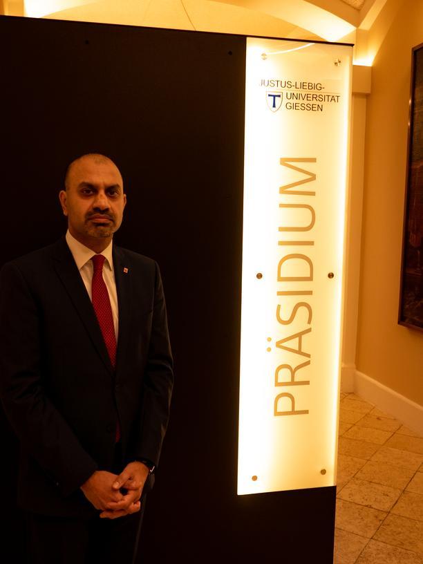 Cyberangriff: Joybrato Mukherjee, Präsident der Justus-Liebig-Universität
