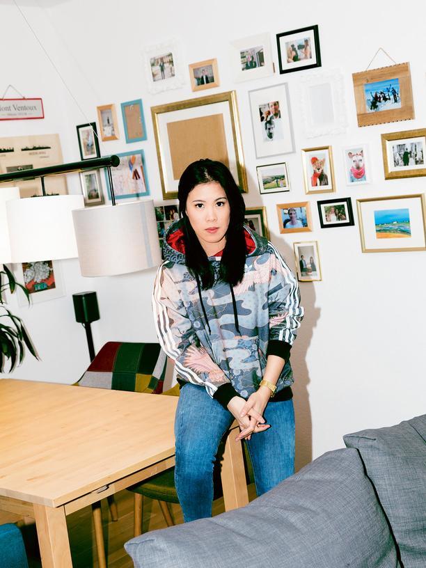 Mai Thi Nguyen-Kim: Mai Thi Nguyen-Kim in ihrer Darmstädter Wohnung