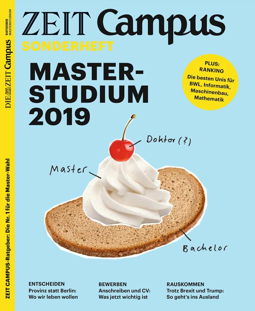 ZEIT Campus Ratgeber 2/2019