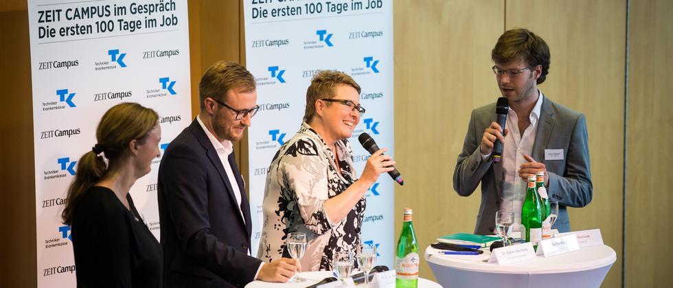"""""""Die ersten 100 Tage im Job"""": Fotostrecke Lüneburg"""