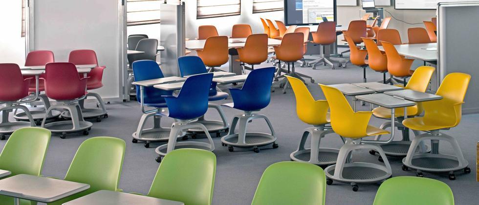 Sitz still!: Aktive Lernumgebungen, neue Lernerfolge