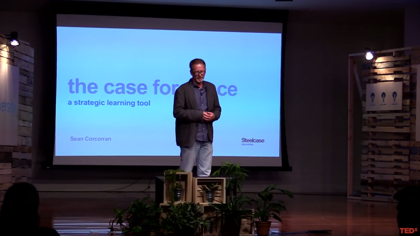 Steelcase Education: TedX Talk Sean Corcorran
