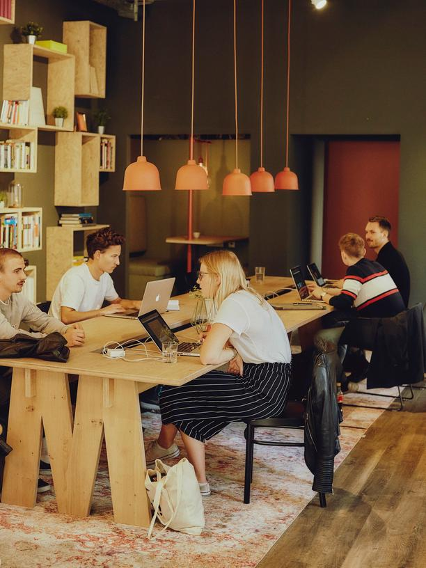 Scenes: As startups crop up throughout Munich, so do coworking spaces like Mates, pictured above.
