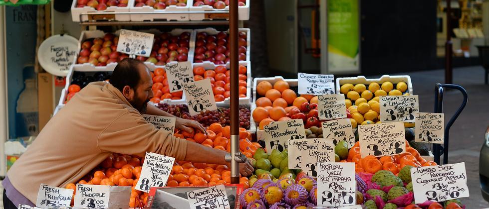 Gemüseladen im Kiez