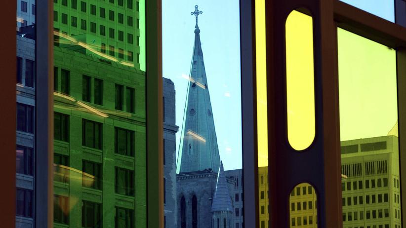 Kirchturm in Montreal, Kanada