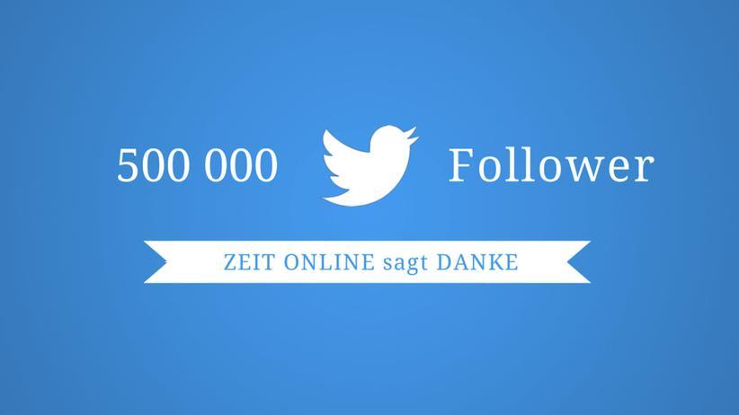 Twitter-Jubiläum: Eine halbe Million gehört Ihnen