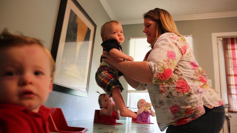 Eltern: Wie kann man nur nicht glücklich sein