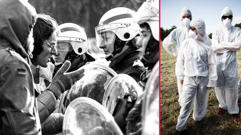 """Umweltaktivismus: """"Es ist Klimakrise, da kann ich mich wohl mal auf eine Schiene setzen"""""""