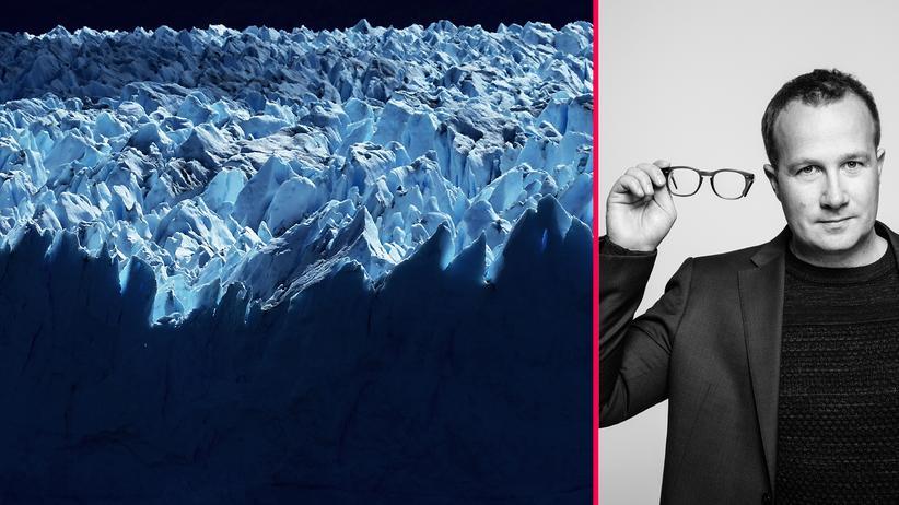Die Antwort Klimawandel Gletscherschmelze
