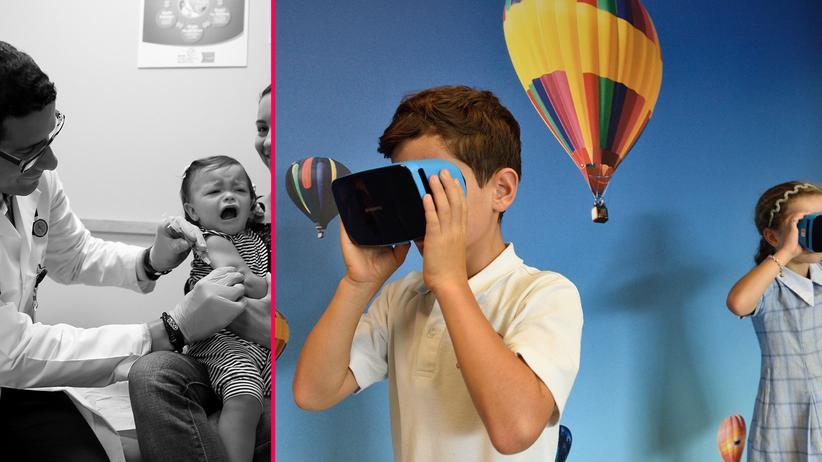 Virtual Reality: Spielen gegen den Schmerz