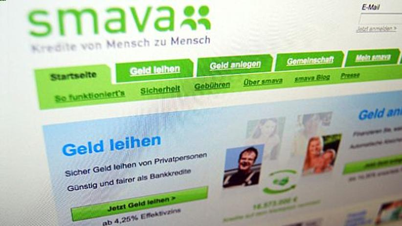 Privatkredite im Netz: Onlinekredite gedeihen in der Bankenkrise