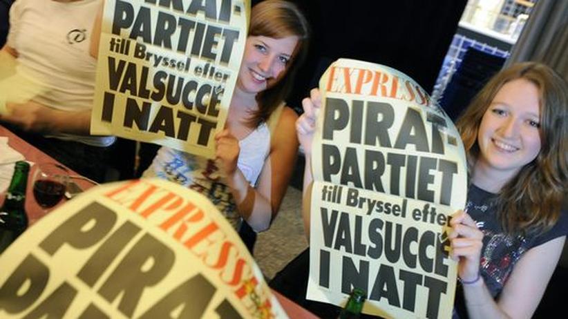 Geheimabkommen: Die Schweden sind besonders alarmiert, was die strafrechtliche Verfolgung von Tauschbörsennutzern betrifft. Ein Abgeordneter der schwedischer Piratenpartei schaffte jüngst den Einzug ins Europaparlament