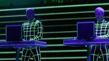 Die Band Kraftwerk: Als Elektro-Pioniere bahnten sie der Chipmusik den Weg. Auf der Cebit Sounds fehlten sie