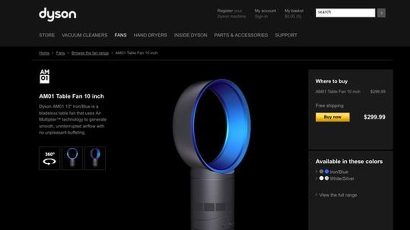 der dyson ventilator macht viel luft um nichts zeit online. Black Bedroom Furniture Sets. Home Design Ideas