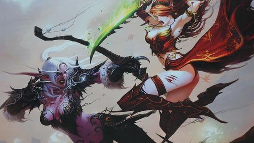 World Of Warcraft Elfe Level 80 In Liebevolle Hände Abzugeben