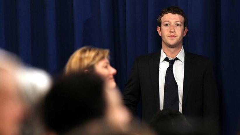 Soziale Netzwerke: Facebook-Gründer Mark Zuckerberg