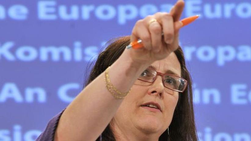 Vorratsdatenspeicherung: EU-Kommissarin Cecilia Malmström