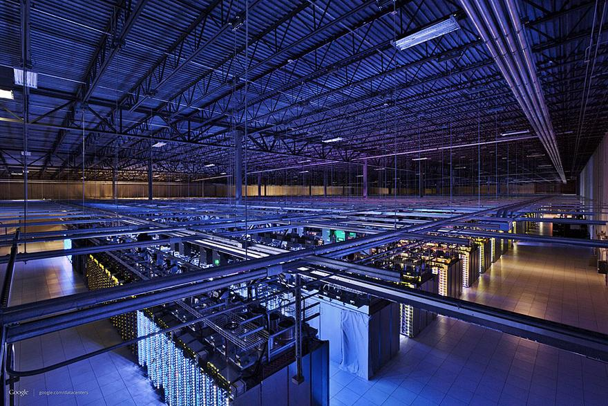 Rechenzentrum USA moderne Architektur