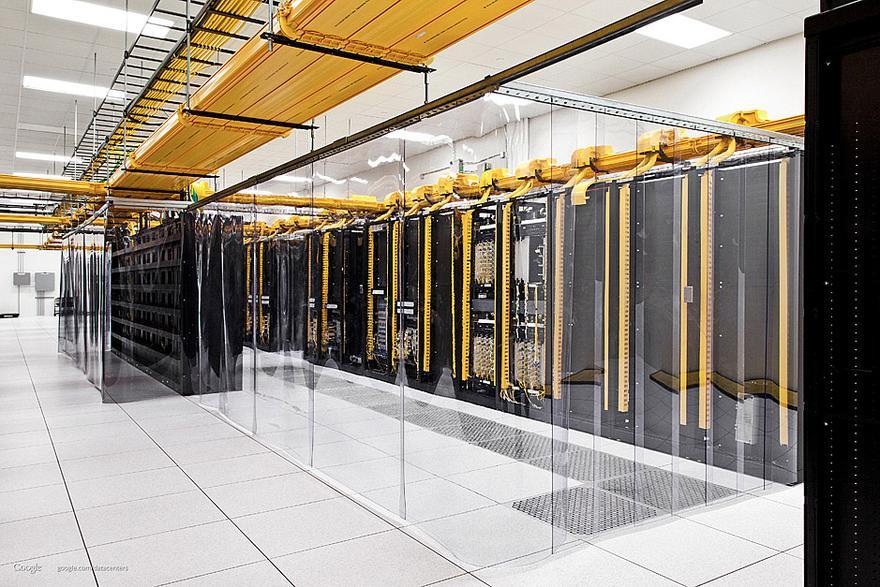 Googles Rechenzentren: Im Maschinenraum des Internets   ZEIT ONLINE