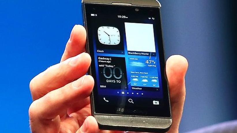 Smartphones: Blackberrys sollen auch Spaß machen