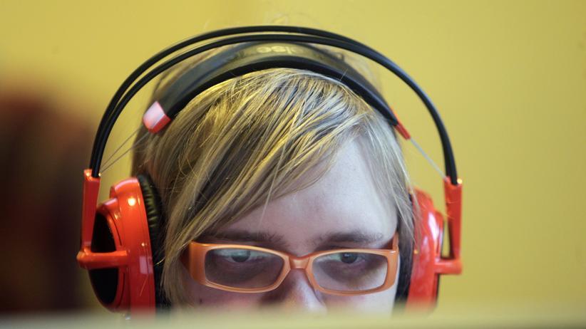 """""""Minecraft"""": Ein Mitarbeiter der schwedischen Firma Mojang, die von Microsoft übernommen wird."""