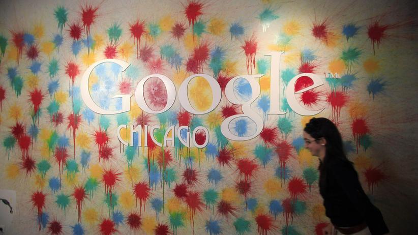 Google: Ein Büro des US-Konzerns Google