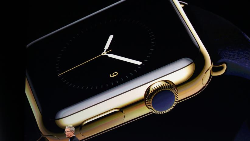 Apple-CEO Tim Cook und die Apple Watch