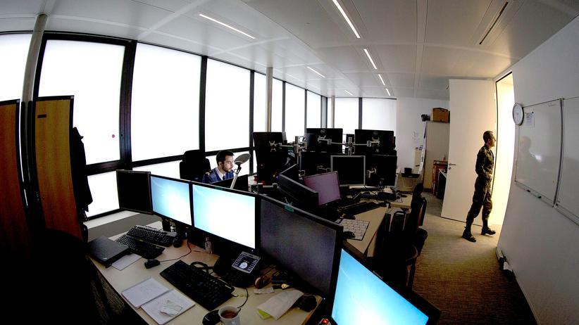 Das Cyberwar-Abwehrzentrum der französischen Armee in Paris