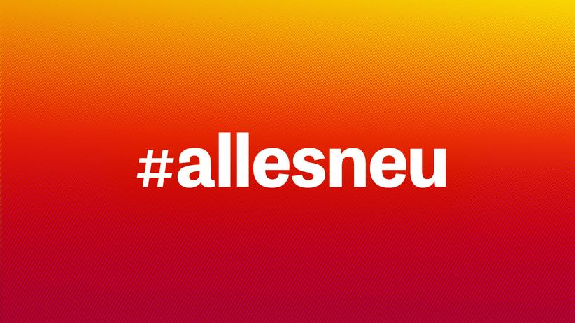 In eigener Sache: #allesneu - der Relaunch von ZEIT ONLINE