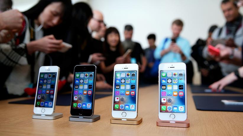 Das iPhone SE mit Vier-Zoll-Display