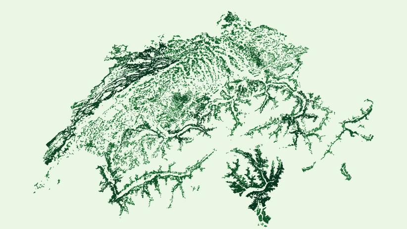 Datenjournalismus: Die Schweiz – gemalt mit Daten