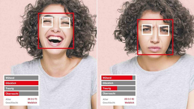 Gefühlserkennung: Die Software Shore analysiert Gesichter und berechnet daraus Stimmungslage, Alter und Geschlecht der untersuchten Personen.