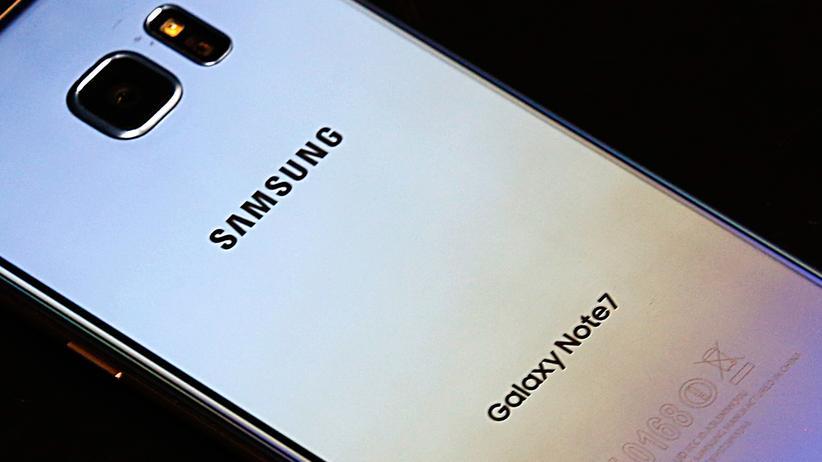 Galaxy Note 7: Samsung stoppt Verkauf von Note-7-Smartphones