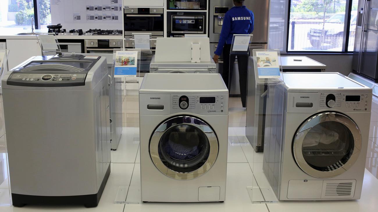r ckrufaktion samsung ruft 2 8 millionen waschmaschinen. Black Bedroom Furniture Sets. Home Design Ideas