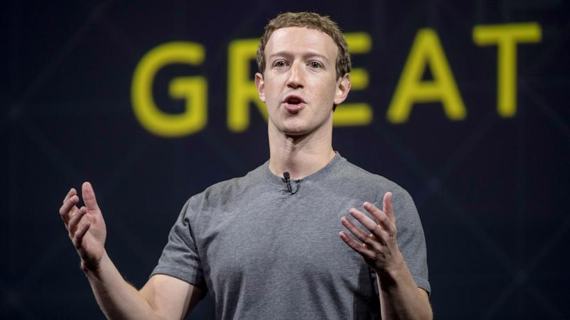 Mark Zuckerberg: Mark Zuckerberg bei einer Konferenz im Oktober 2016 im kalifornischen San Jose.