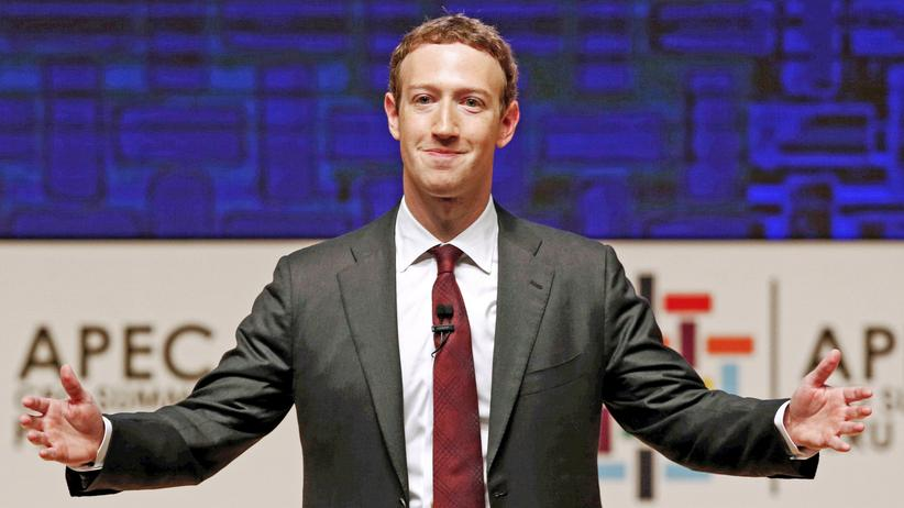 Facebook: Facebook-CEO Mark Zuckerberg