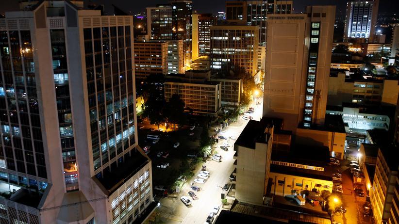 Geschäftsviertel von Nairobi
