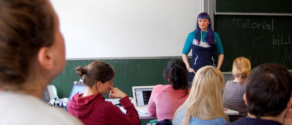 Workshop der Rails Girls in Berlin
