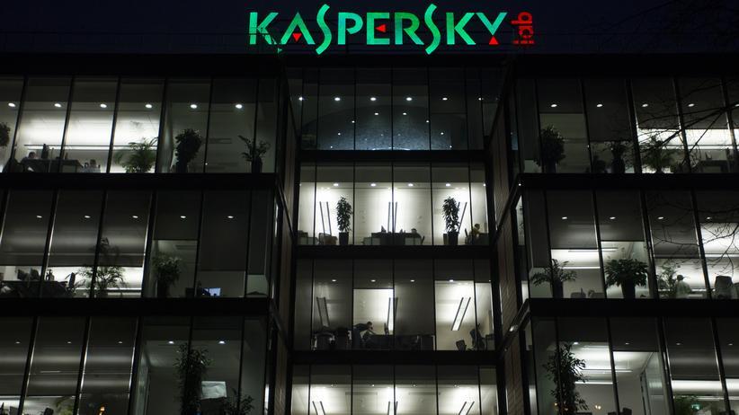 Spionageverdacht: Die Firmenzentrale von Kaspersky in Moskau