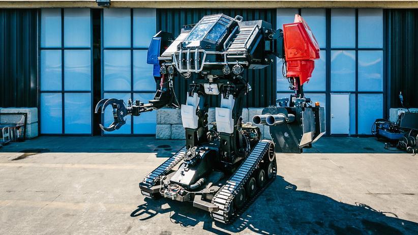 """Robot Duel Challenge: In der amerikanischen Ecke: der MegaBots Mk. III, Codename """"Eagle Prime"""""""
