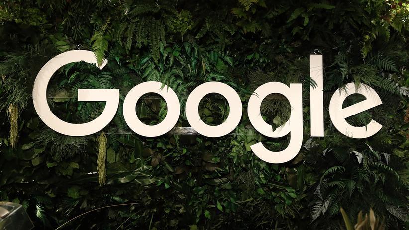 Gmail: Das Google-Logo auf der W20-Konferenz in Berlin.