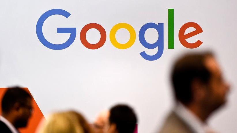 Bundesgerichtshof: Das Google-Logo während eines Kongresses in Lissabon