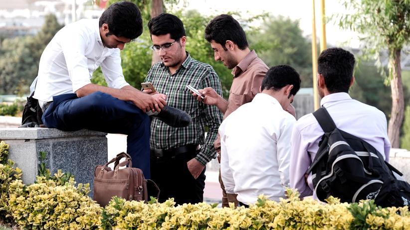 Soziale Medien: Im Iran ist Telegram mit mehr als 40 Millionen Nutzern die beliebteste Messaging-App.