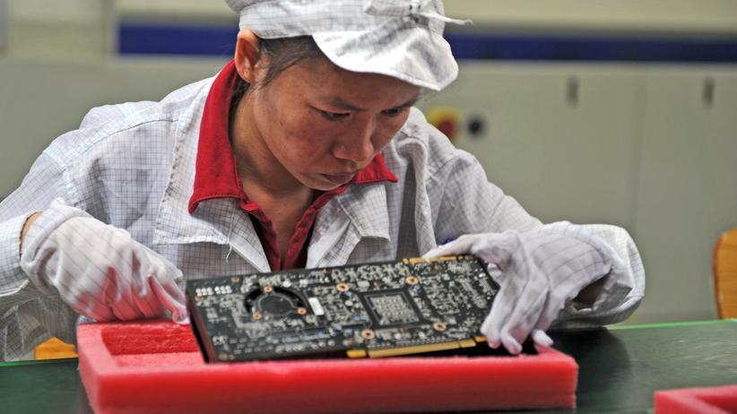 Apple und Amazon: Eine Platinenfabrik in Shenzhen