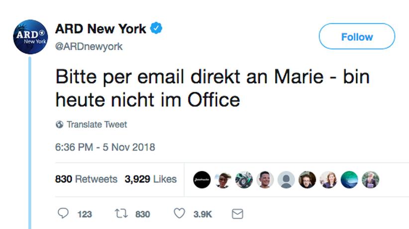 ARD: Marie kümmert sich