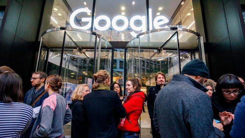 """Google Walkout: """"Wir sind nicht nur Angestellte, wir sind Besitzer"""""""