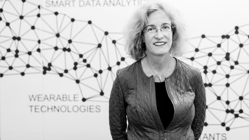 Künstliche Intelligenz: Jana Koehler in den Büros des DFKI in Berlin