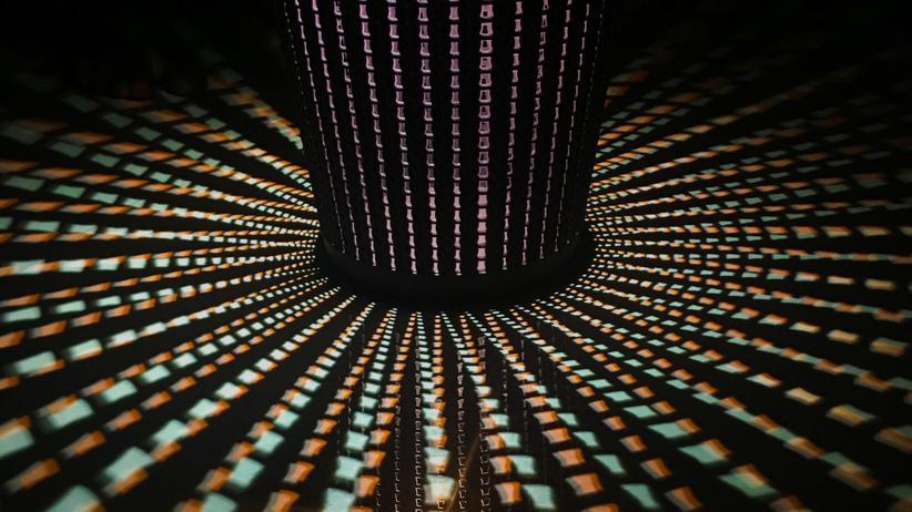 Internet: Das hier ist nicht das Darknet. Aber es ist auch wirklich schwer zu fotografieren.