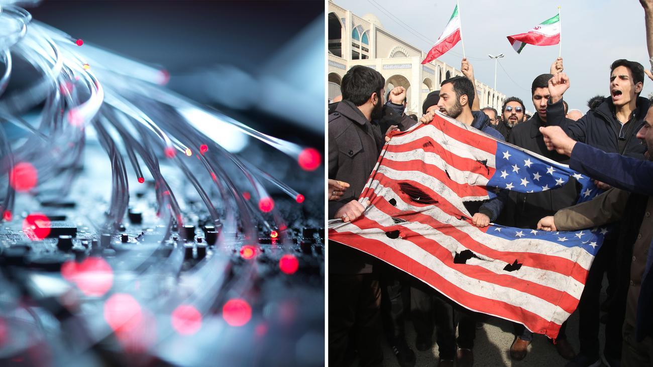 """Iran: """"Mit Cyberangriffen kann man die USA in den USA treffen"""""""