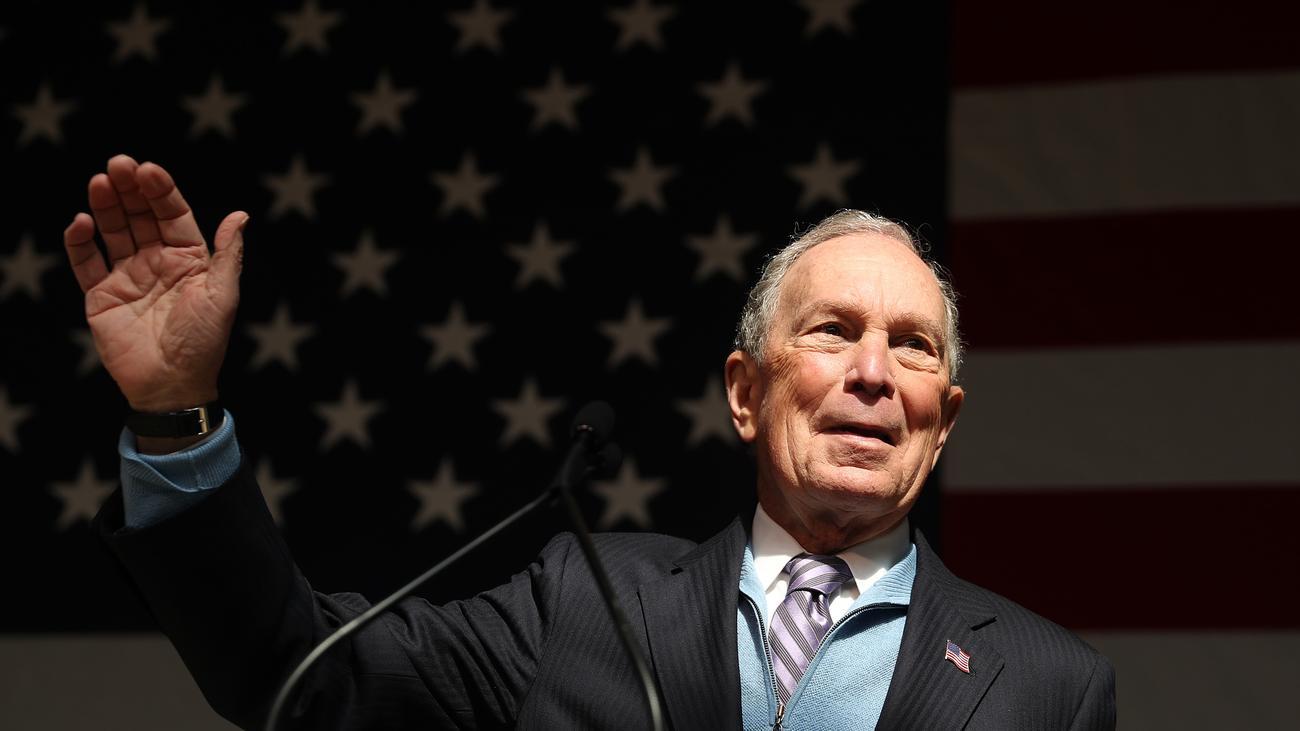 Michael Bloomberg: Suche Swag. Biete Geld.